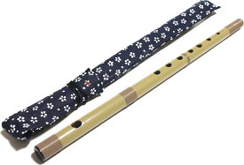 SUZUKI SNO-03 / SNO-02 スズキ 篠笛(しし笛) 専用布ケース付属