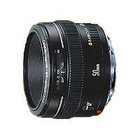 【送料無料】キヤノン 標準&中望遠レンズ EF50mm F1.4 USM JAN末番3644
