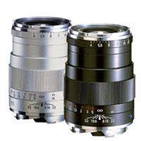 【送料無料】コシナ Carl Zeiss Tele-Tesser T* 4/85 ZM シルバー/レンズ