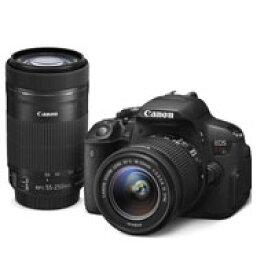 【送料無料】Canon EOS Kiss X7i ダブルズームキット デジタル一眼レフカメラ