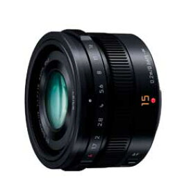 【送料無料】パナソニック LEICA DG SUMMILUX 15mm/F1.7 ASPH. H-X015-K [ブラック]