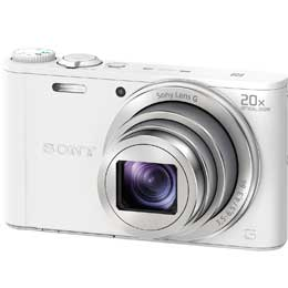 【送料無料】【即納】SONY サイバーショット DSC-WX350 (W)[ホワイト] コンパクトデジカメ JAN末番0159