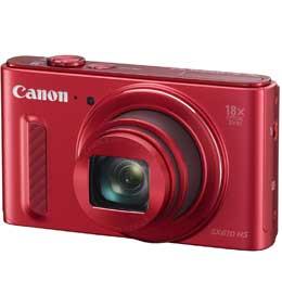 【送料無料】Canon PowerShot SX610 HS [レッド] コンパクトデジカメ JAN末番1119