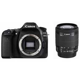 【送料無料】【即納】Canon EOS 80D EF-S18-55 IS STM レンズキット デジタル一眼レフカメラ JAN末番060942※WINTERキャッシュバックキャンペーン 11/11(土)-2018/1/14(日)迄 【店頭受取対応商品】