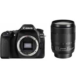 【送料無料】Canon EOS 80D EF-S18-135 IS USM レンズキット デジタル一眼レフカメラ JAN末番060959 【店頭受取対応商品】
