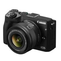 【送料無料】Canon EOS M3 EF-M15-45 IS STM レンズキット [ブラック] デジタル一眼(ミラーレス一眼カメラ) JAN末番072914