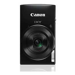 【送料無料】【即納】Canon IXY 190 [ブラック] コンパクトデジカメ JAN末番057041