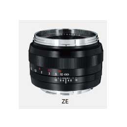 【送料無料】コシナ Carl Zeiss Planar T* 1.4/50 ZE /レンズ
