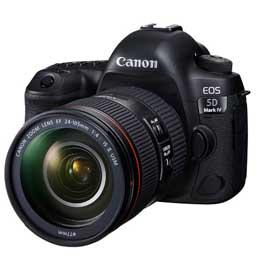 【送料無料】【即納】Canon EOS 5D Mark IV EF24-105L IS II USM レンズキット JAN末番075854 【店頭受取対応商品】
