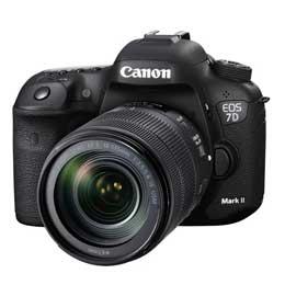 【送料無料】【即納】CANON EOS 7D Mark II EF-S18-135 IS USM レンズキット W-E1