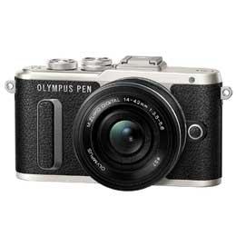 【送料無料】【即納】OLYMPUS PEN E-PL8 14-42mm EZレンズキット [ブラック]