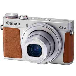 【送料無料】【即納】Canon PowerShot G9 X Mark II [シルバー] JAN末番081121 【店頭受取対応商品】
