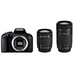 【送料無料】【即納】Canon EOS Kiss X9i ダブルズームキット JAN末番083729