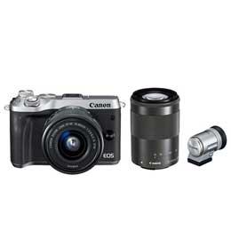 【送料無料】Canon EOS M6 ダブルズームEVFキット JAN末番127889