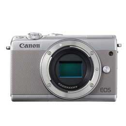 【送料無料】Canon EOS M100 ボディ [グレー] JAN末番093957 【店頭受取対応商品】