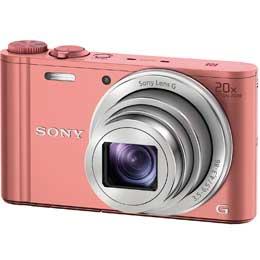 【送料無料】【即納】SONYサイバーショット DSC-WX350(P)[ピンク]