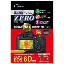 【メール便OK】エツミ 液晶保護フィルムZERO(キヤノン EOS 6D専用) /ETSUMI E-7300 JAN末番730092