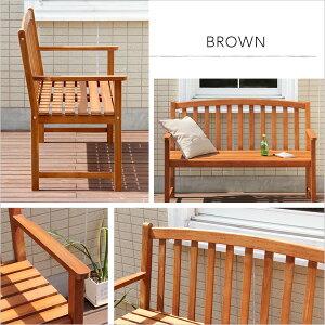 【送料無料】アカシア木製ベンチ【DOZE-ドーズ-】(木製ガーデンベンチ)【北海道・沖縄・離島配送不可】