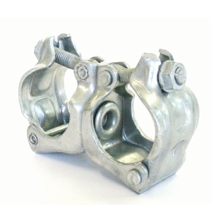 単管パイプ用 ドブメッキ自在クランプ  ARC−2D  同径48.6φ 1箱 30個入り