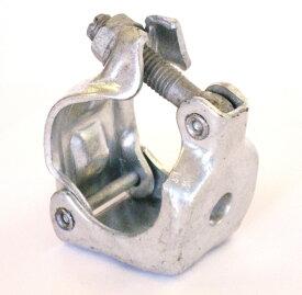 【送料無料】単管パイプ用 ドブメッキ 単クランプ(13φ穴開き)ARC−8D 同径48.6φ
