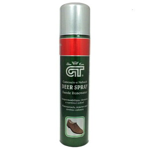 GT スエードリノベイター イタリア製 起毛皮革用 補色 防水スプレー 靴磨き シューケア スウェード ヌバック用