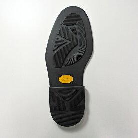 【送料無料】※アウトレット品※ Vibram ビブラム #2870 ソール& #5870 ヒール セット ブラック 製靴 靴修理 靴底 リッジウェイ型