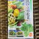 サラダ小松菜のタネ【小袋詰】周年栽培可能