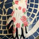 プレゼントに ガーデニング・園芸用 グローブ手袋 ローズ Mサイズ ラッピング込み 送料込み ※日時指定不可