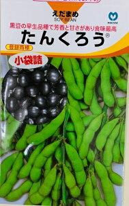 たんくろう 黒枝豆 のタネ 約60粒 50ミリリットル メーカー丸種 播種後80〜85日後収穫