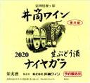 井筒にごりワイン 白 2020年産720ml 無添加本生予約 要冷蔵