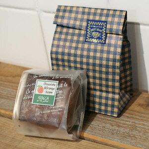 オレンジ風味のチョコレートスコーン・バレンタインプチギフト〜みかんの花の蜂蜜と生クリームとバターを使った贅沢スコーン〜