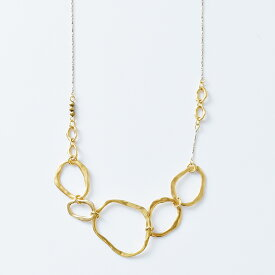 """Joli&Micare(ジョリー&ミカーレ)ネックレス""""5Ring long Necklace"""" fir0109-mm"""
