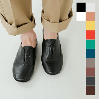 ■ volare (Volare) leather flat shoes wing-hm