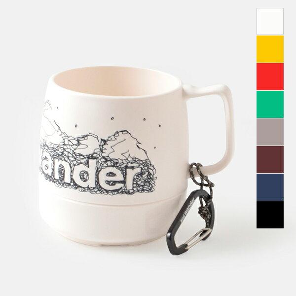 """【ラクーポン対象】【2019ss新作】and wander(アンドワンダー)カラビナ付断熱カップ""""and wander DINEX"""" aw-aa940-mt"""