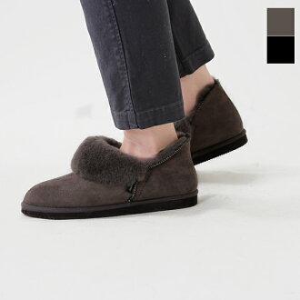"S2411-aa SHEPHERD (Sheppard) Sheepskin short boots ""KARIN"""