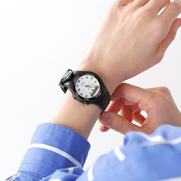 【ラクーポン対象】CASIO(カシオ)スタンダード アナデジ 腕時計 aw-90h-7bvdf-sn