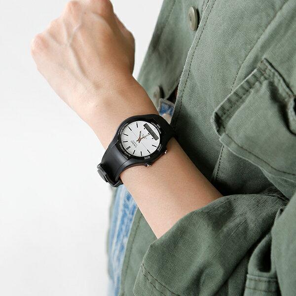 【ラクーポン対象】CASIO(カシオ)スタンダード アナデジ 腕時計 aw-90h-7evdf-mk