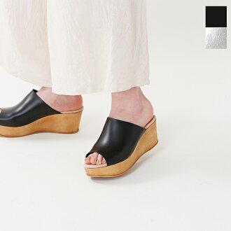 BONTRE (ボントレ) leather wedge sole sandals 65325-ms