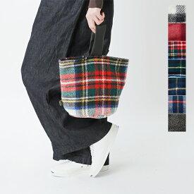 """【最大28倍】【2020aw新作】TWEEDMILL(ツイードミル)aranciato別注 ワンハンドルチェックバッグ""""Doorstop Bag"""" doorstop-hm"""