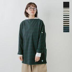 【2019aw新作】ORCIVAL(オーチバル・オーシバル)コットン100%長袖バスクビッグシャツ b211clw-mt