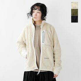 【2019aw新作】and wander(アンドワンダー)ハイロフトフリースジャケット aw93-jt601-tr