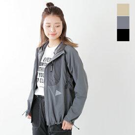 """【最大46倍】and wander(アンドワンダー)トレックフードジャケット""""trek jacket 2"""" aw91-ft011-mm"""