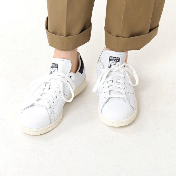 """【最大48倍】adidas Originals(アディダス オリジナルス)スムースレザースニーカー""""STAN SMITH"""" stan-smith-18ss-rf【サイズ交換初回無料】"""