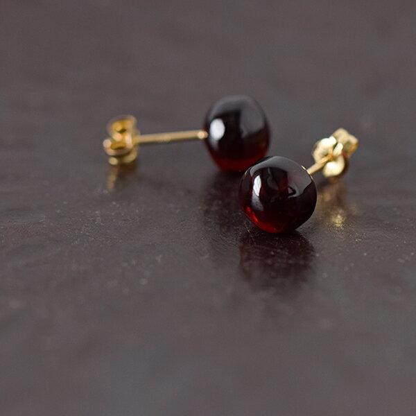 "■SOURCE(ソウス)ナチュラルフォルムストーンピアス""Pebble Earrings"" p-pb-01-mm"