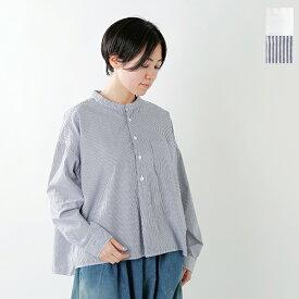 【2019aw新作】D.M.G(ドミンゴ)コットンスタンドカラーシャツ 16-405x-406x-fn