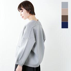 【50%OFF】【最大42倍】soi-e(ソア)aranciato別注 鹿の子編み切替えニットカーディガン 750097-mt