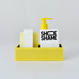 【最大47倍】【2019aw新作】【海外出荷不可】SHOE SHAME(シューシェイム)クリーニングジェル&ダブルサイドブラシ オールインワンキット lose-the-dirt-kit-sn