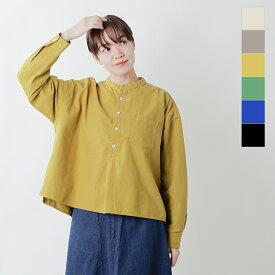 【2020aw新作】D.M.G(ドミンゴ)コットンフランネルスタンドカラーシャツ 16-0567x-mm