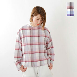 SUPP. no one else (Sapp no one Els) cotton check shirt 123-3003-yn