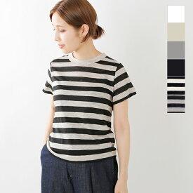 【最大33倍】【2020ss新作】mao made(マオメイド)プリミエルリネンクルーネックTシャツ 011202-b-yh